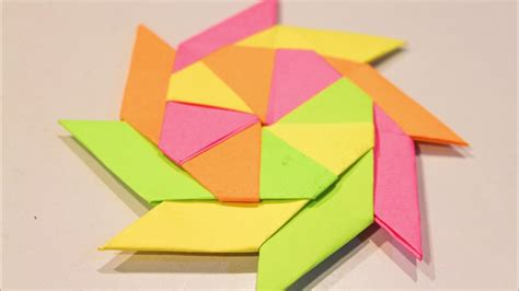 sticky note origami origami how to make an origami bookmark post it