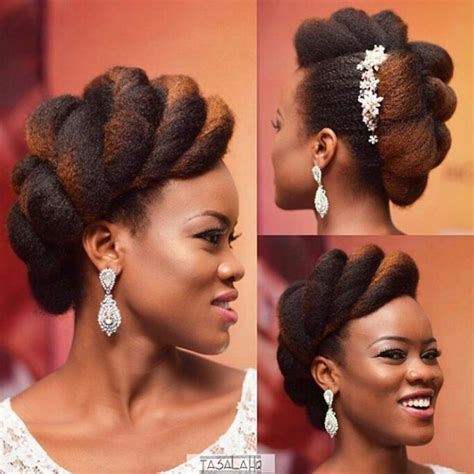 Bridal Hairstyles For Natural Hair   Essence.com