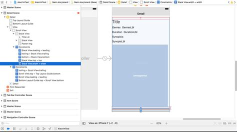 how does uistackview layout elements in a stack ios uistoryboard auto layout embed uistackview inside