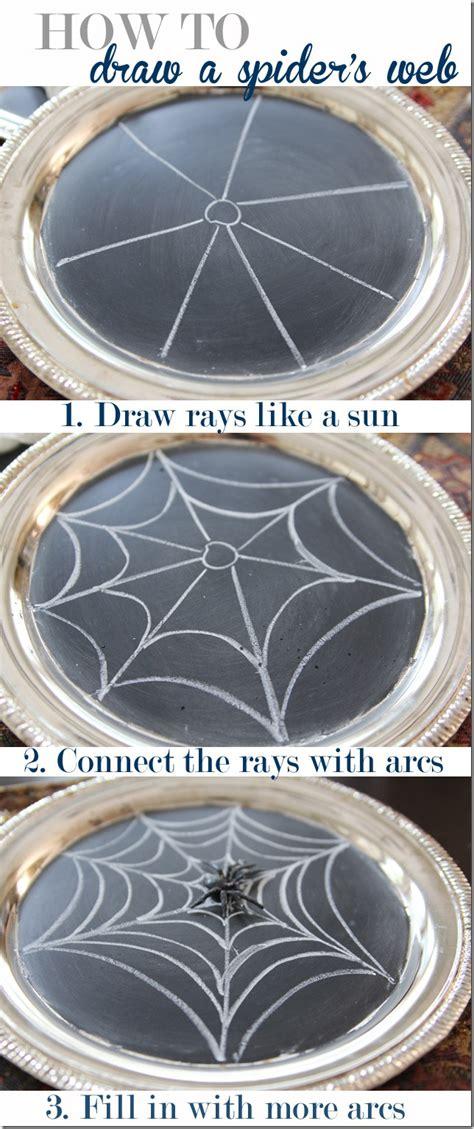 tutorial web easy easy tutorial how to draw a spider s web unskinny boppy