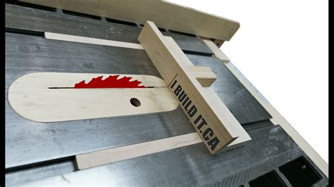 How To A Mini Table Saw Sled