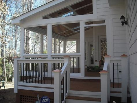 shed roof screened porch building a shed under an existing deck neks