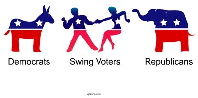 qshirts political national t shirts - Swing Voters Definition
