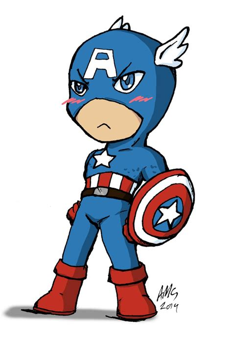captain america chibi wallpaper kiriban chibi captain america by mandy kun on deviantart