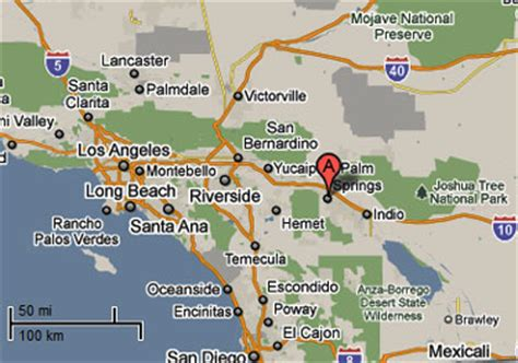 springs in southern california map sighting reports 2010