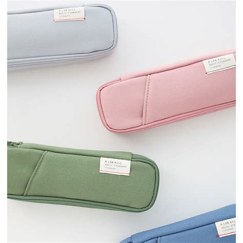 Pencil Pouch 7 livework a low hill basic standard pocket pencil pouch fallindesign