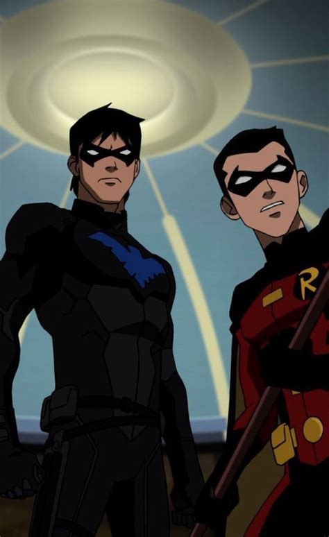 nightwing hairstyle nightwing young justice and robins on pinterest
