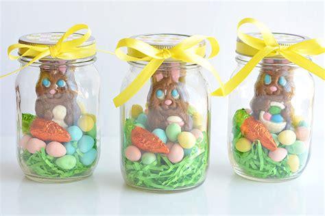 easter chocolate gifts mason jar easter gifts chocolate bunny mason jars