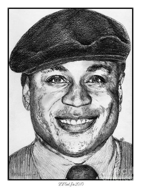 Drawing J by Ll Cool J In 2010 Drawing By J Mccombie
