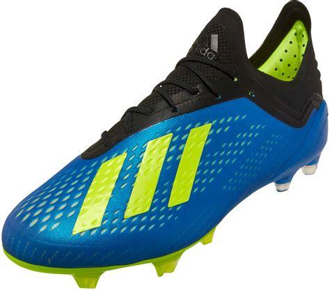adidas x 18 1 fg football blue adidas soccer cleats soccerpro