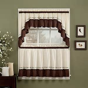 Swag Curtains For Kitchen Windows Window Curtain Tiers Bed Bath Beyond