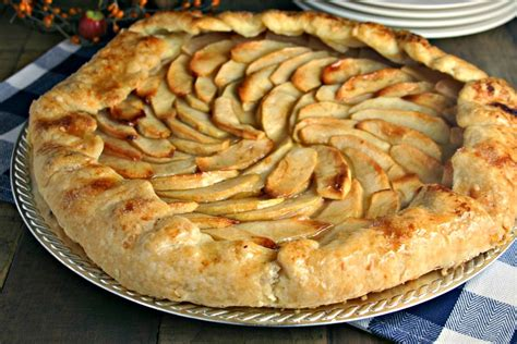 apple tart rustic apple tart recipe dishmaps
