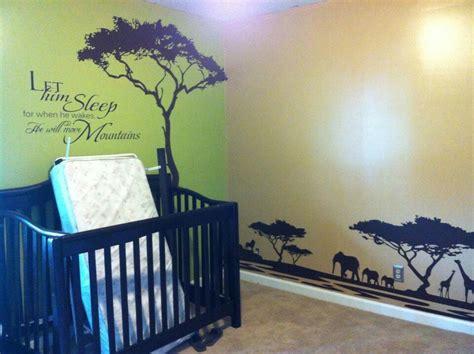 Beautiful Lion King African Themed Nursery Kids Room So King Nursery Decorations