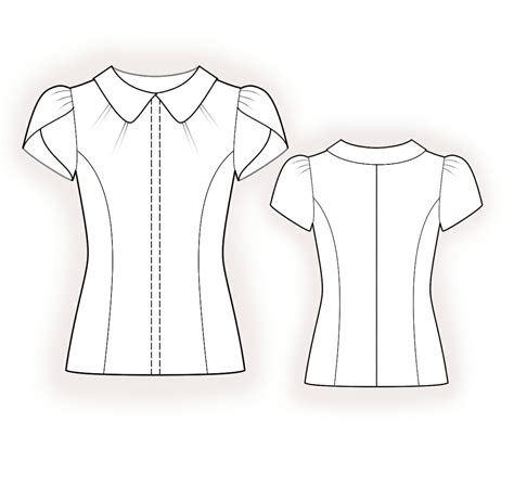 blouse pattern video download blouse sewing pattern 4379 made to measure sewing