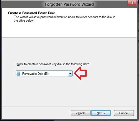 vista password reset usb flash drive create a password reset disk on a usb flash drive in