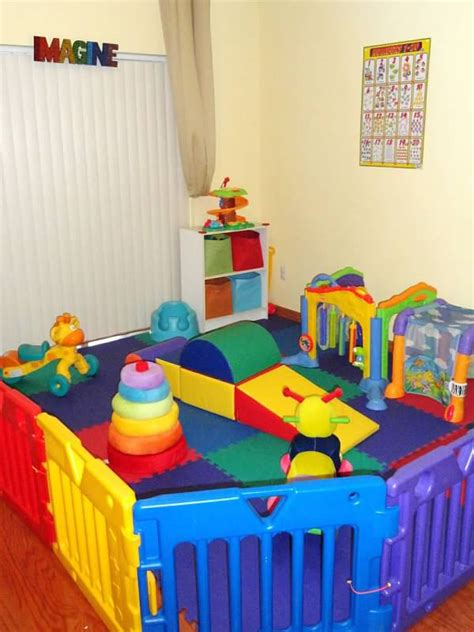 home daycare decor genuinely loving childcare infant play area future