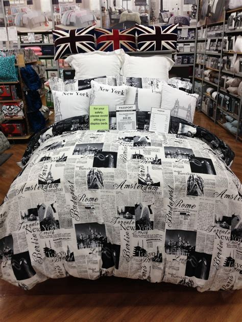 passport bedding from bed bath and beyond travelbug