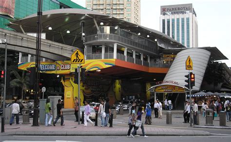 the street of bukit bintang kuala lumpur file bukit bintang station kuala lumpur monorail