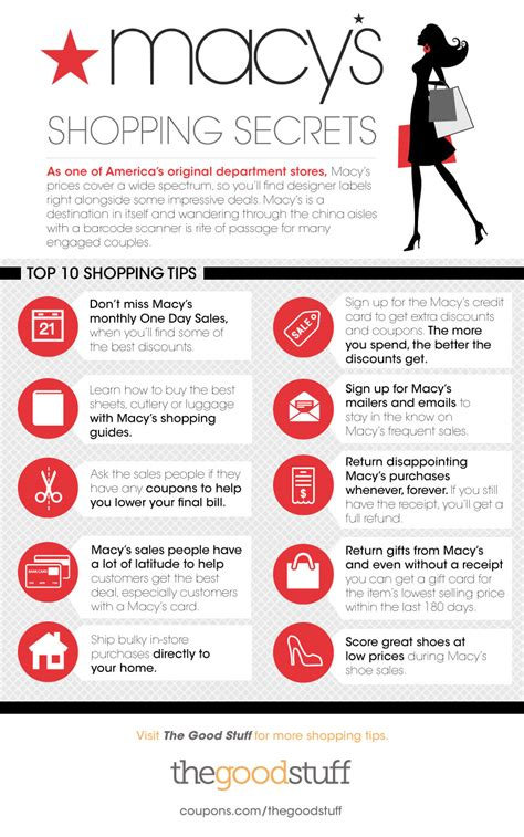 Can You Shop Online With A Macy Gift Card - macy s shopping secrets thegoodstuff
