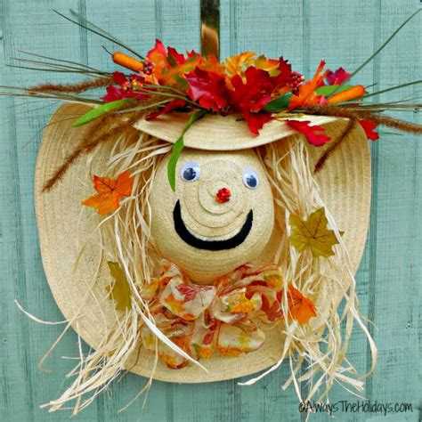 scarecrow decorations fall creative ideas for fall decorations the gardening cook
