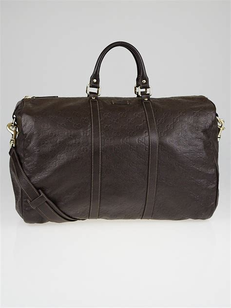 Hermes Carry On Smooth 819h Leather gucci brown guccissima leather carry on duffle travel