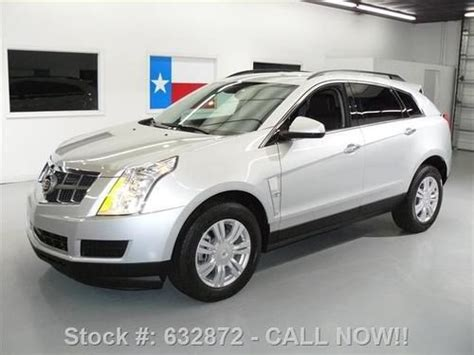 Cadillac Ctr by Sell Used 2010 Cadillac Srx V6 Cruise Ctrl Leather Spoiler