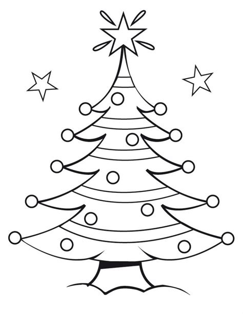 christmas tree pictures to print free printable tree coloring pages for