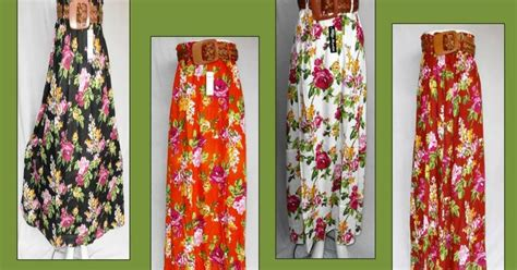Olla Blouse Capung Tunik Sabrina Capung rok bunga cantik grosir baju murah tanah abang