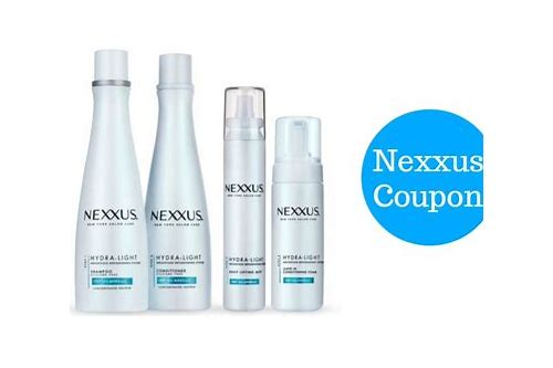 nexxus coupons may 2018