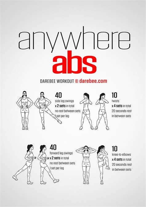 abs workout exercises     shape
