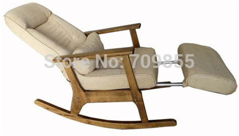 wooden rocking chair for elderly japanese style