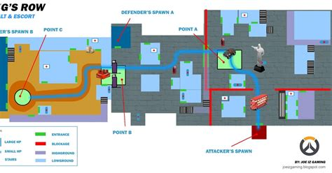 map layout and design joe iz gaming blog overwatch king s row map layout with