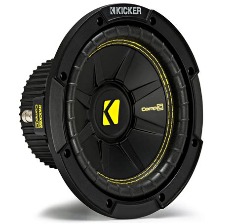Speaker Subwoofer Kicker kicker cws8 car audio compc subwoofer single 4 ohm 8 quot sub 44cwcs84 brand new kic17 44cwcs84