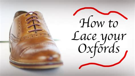 how to lace oxford shoes how to lace oxfords bar lacing cameron cretney