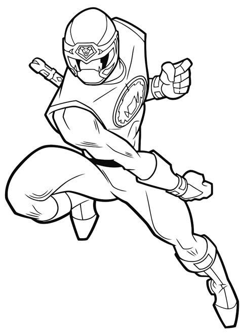 Power Rangers Samurai coloring pages for boys to print for