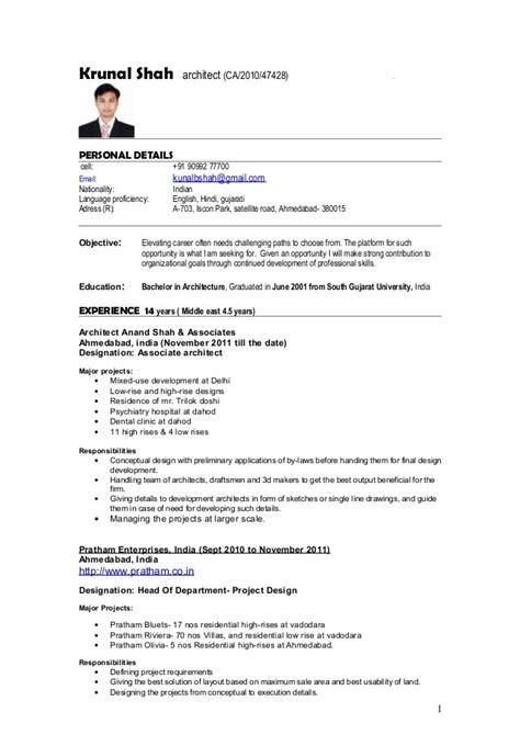 Software Architect Sle Resume Software Architect Resume Exles Architect Cover