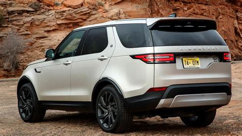 silver land rover discovery land rover discovery 2017 review first drive carsguide