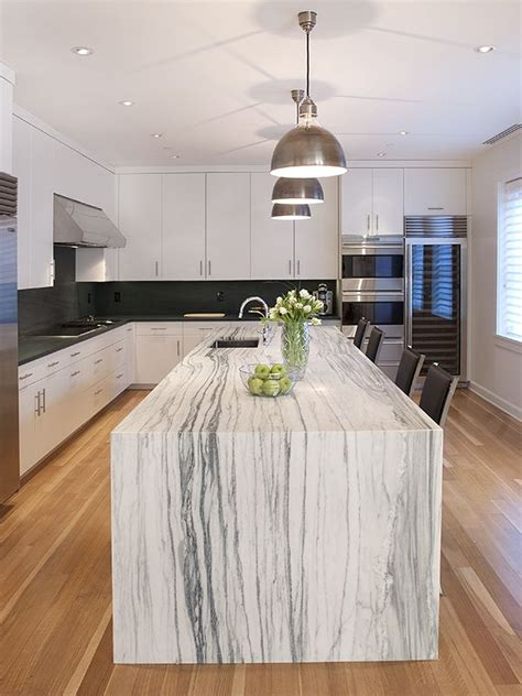 25 best ideas about waterfall countertop on