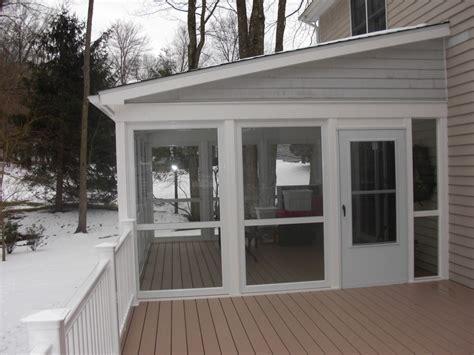enclosed porch plans invigorating screen porch ideas interior and exterior view