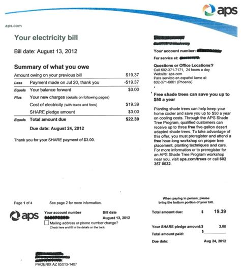 solar roi solar electric bill impact solar power