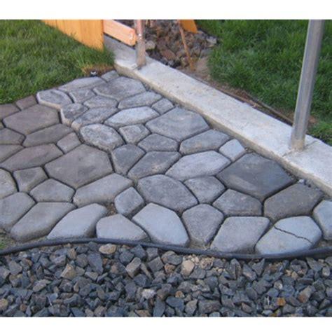 driveway paving pavement mold patio concrete stepping