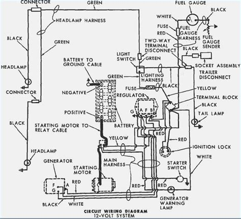 5000 ford tractor key switch wiring diagram ford auto