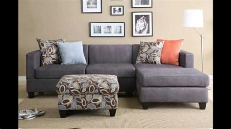 2 pc sectional sofa chaise 2 pc charcoal microfiber sectional sofa with chaise