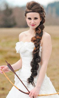 how to do warrior princess hair warrior woman braided hairstyle in looove with her color