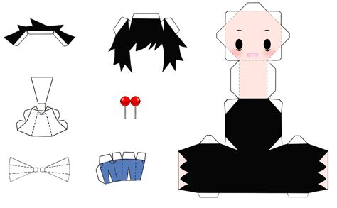 Note Papercraft - l papercraft by 0djpoppy0 on deviantart