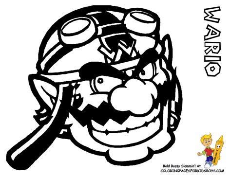 baby wario coloring pages baby wario coloring sheets coloring coloring pages