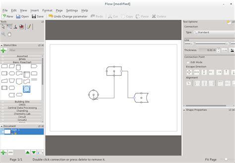 inkscape tutorial flowchart tools for diagramming in fedora fedora magazine