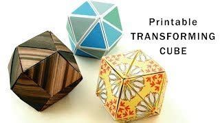 origami tutorial how to make dancing cubes origami tutorial how to make dancing cubes transforming cubes