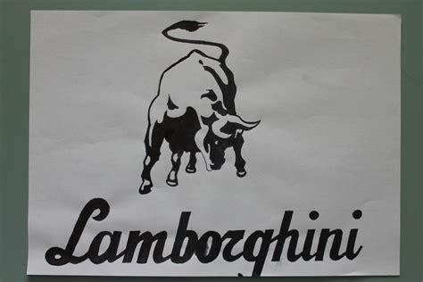 lamborghini symbol drawing lamborghini logo by alienslo on deviantart