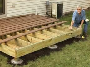 building wood decks plans deck building plans do yourself